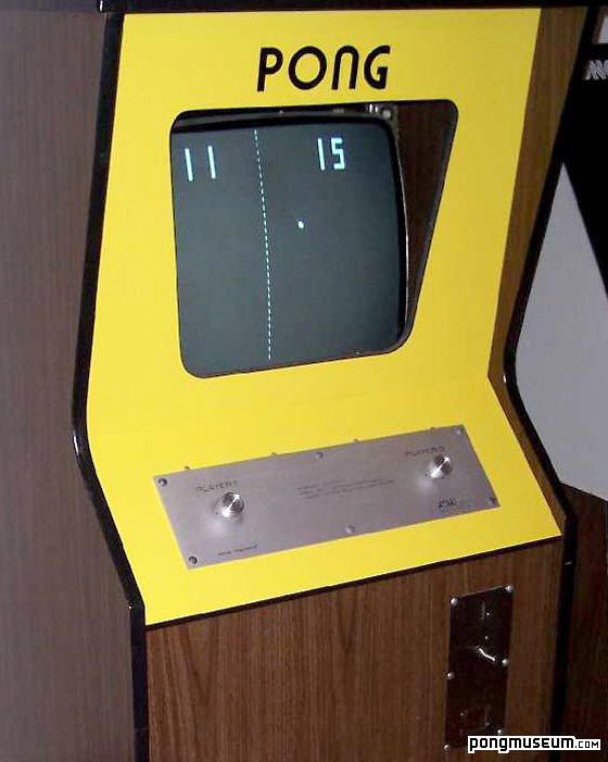 The original Atari PONG Arcade